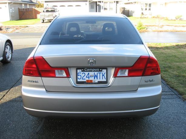 2002 Acura EL 1.7 Lt Automatic