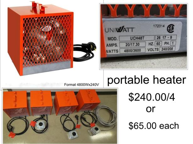 portable heater