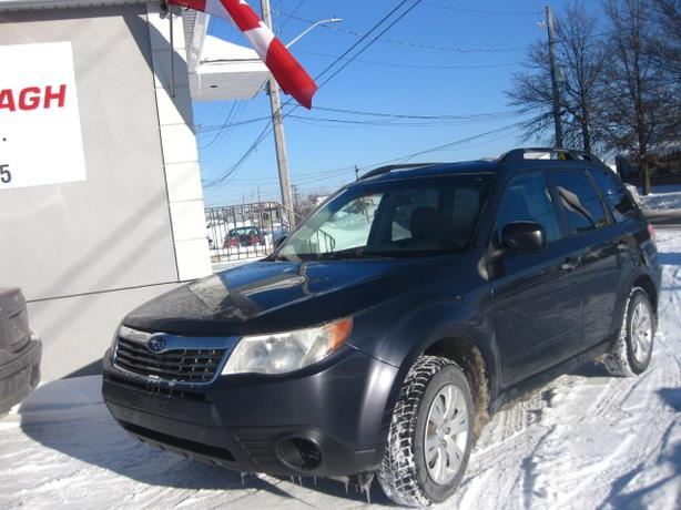 2010 Subaru Forester (5SP) 4WD, ALL POWER, 12M.WRTY+SAFETY $6990