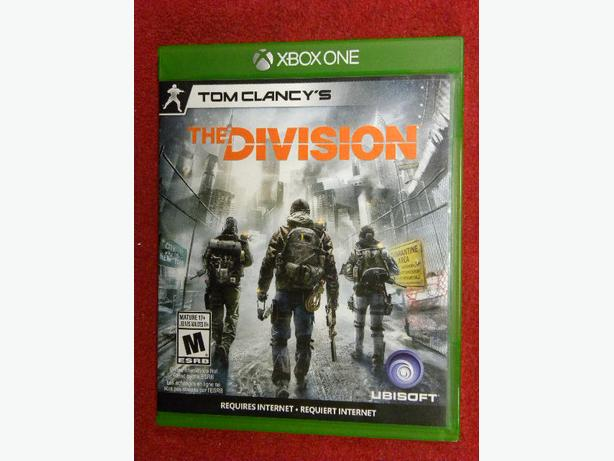 The Division for X Box ONE