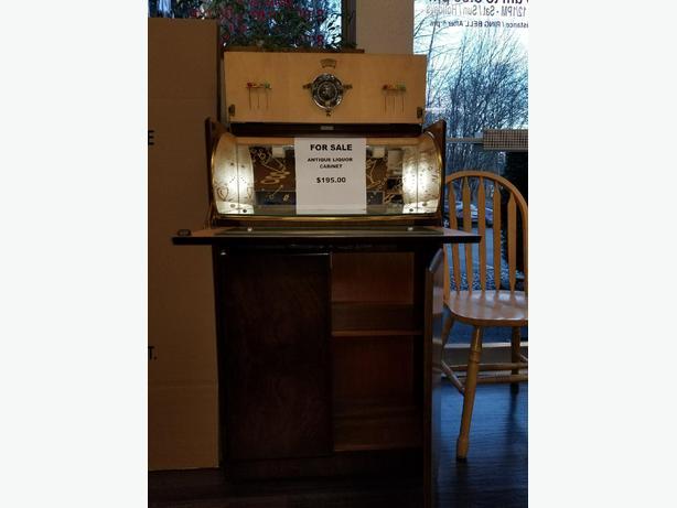 Antique Liquor Cabinet