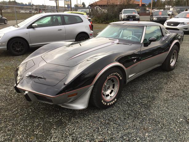 1978 Chevrolet Corvette **25th Anniversary Indianapolis Pace Car**