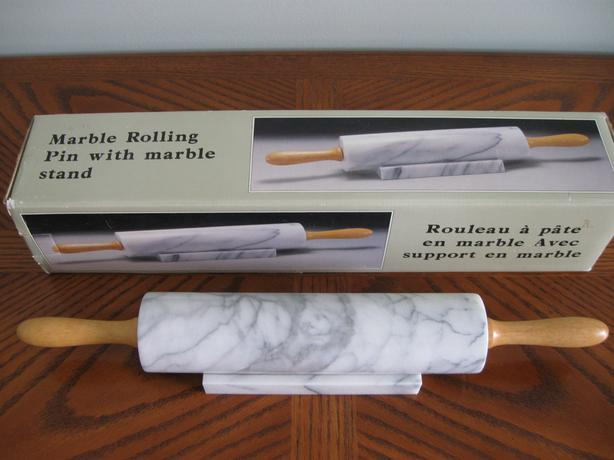 Marble Rolling Pin with Stand