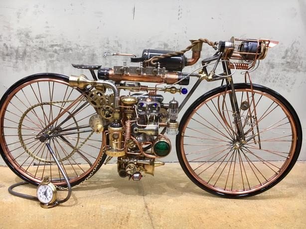 Steampunk Boardtracker