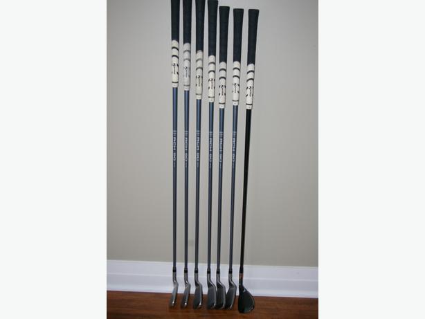 Left Handed Senior Flex Graphite irons