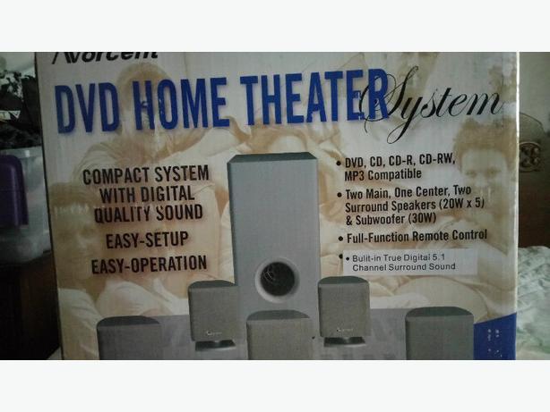 DVD home Theater System/Brand new still in original box
