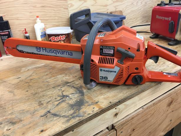 Huskqvarna 36cc chain saw