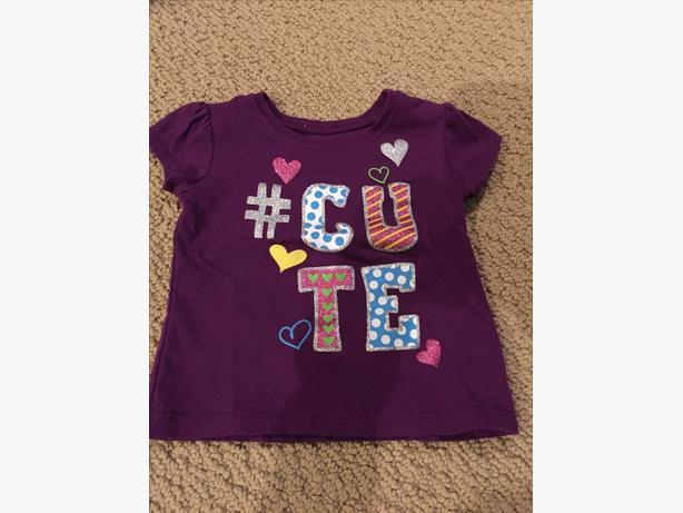 CHILDREN'S PLACE T-SHIRT 12-18 MONTHS
