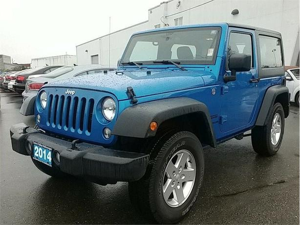 2014 Jeep Wrangler 2-Door Sport 4X4 Automatic