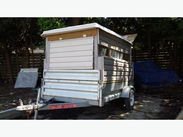 aluminum 5×7 trailer