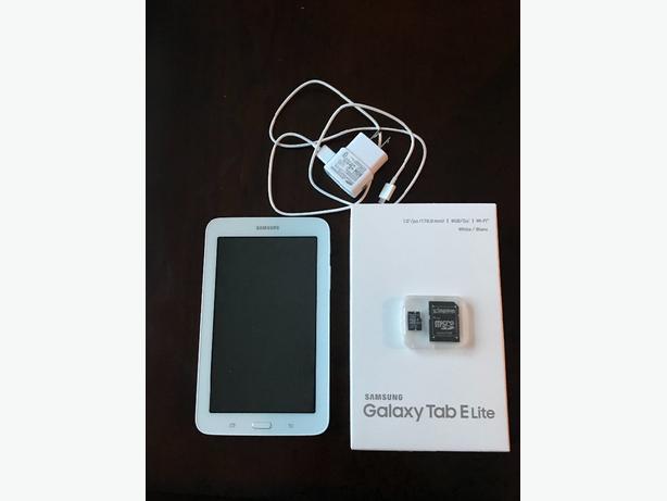 New Samsung Galaxy Tab E Lite