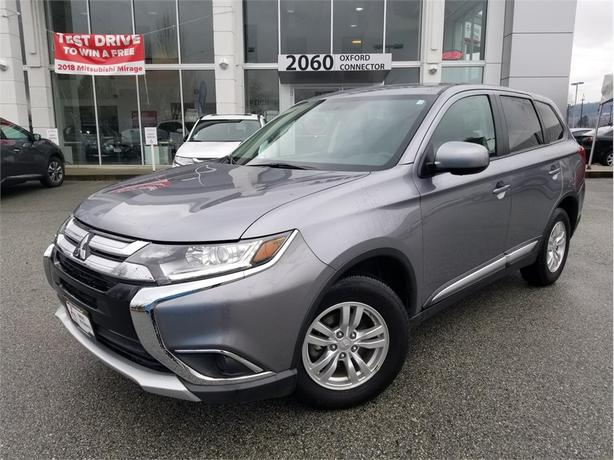 2017 Mitsubishi Outlander ES AWC, HEATED SEATS, BACK UP CAMERA