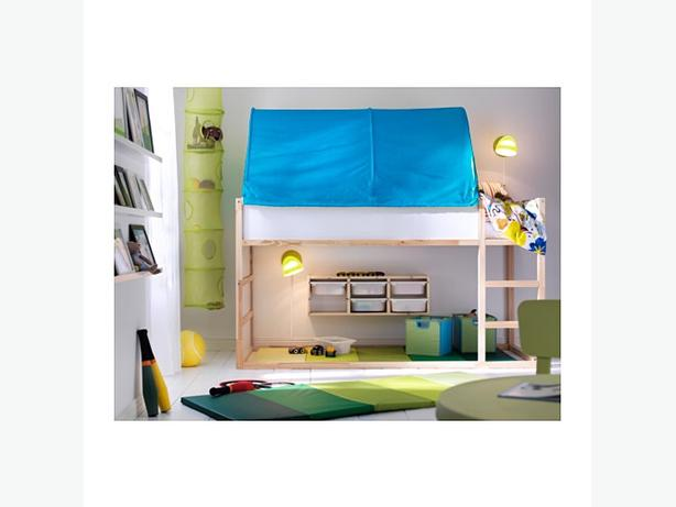 ikea Kura Low Loft Bed w/tent