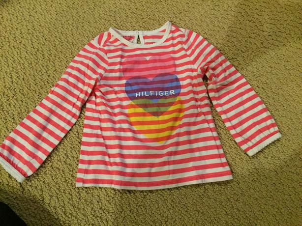 GIRLS TOMMY HILFIGER LONG SLEEVE TOP 2T