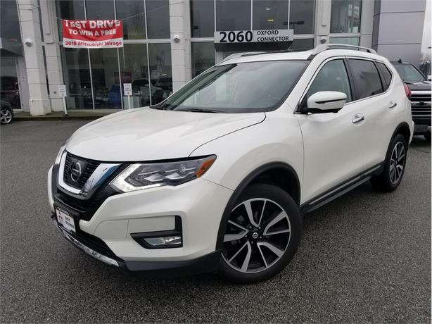 2017 Nissan Rogue SL PLATINUM, AWD, LEATHER SUNROOF