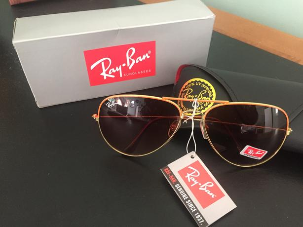 c1407eb61e Ran Ban Aviator Sunglasses - New in Box Oak Bay