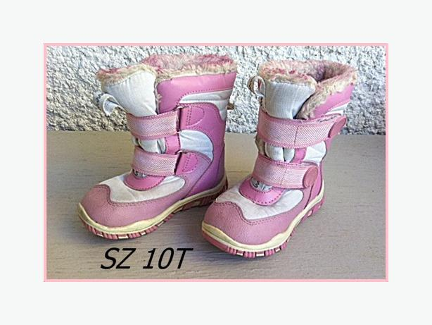 Girls Winter Boots Sz 10T