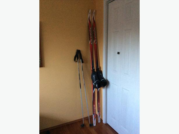X Country Classic Skis, Boots, Poles