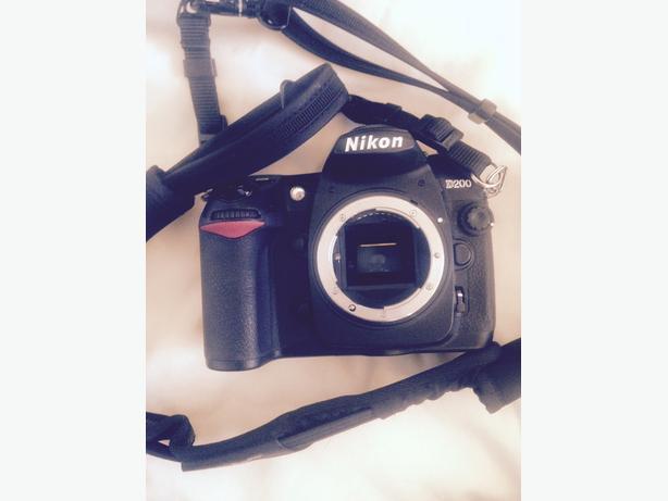 Nikon D200 w/ nice lenses and all equipment!