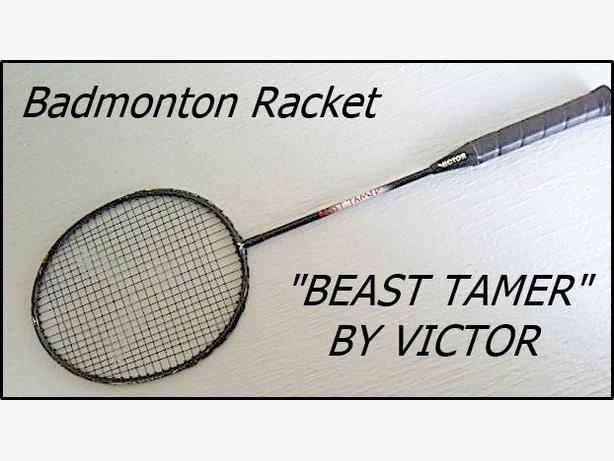 Victor Beast Tamer Badminton Racquet (Racket)