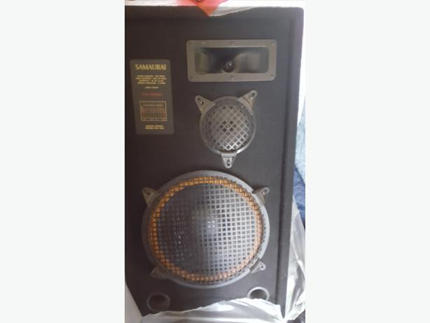 SAMAURAI SPEAKERS FOR SALE