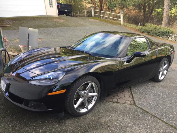 Black 2011 Corvette