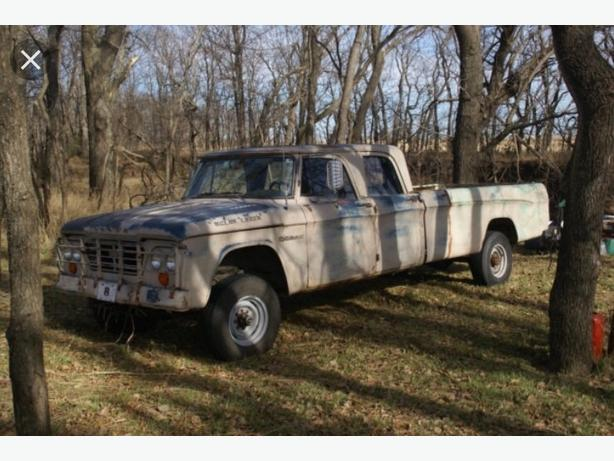 WANTED: WANTED: 1960's Dodge D100, D200 crew cab