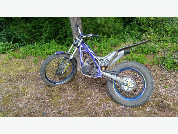 2016 sherco st300 factory trials bike