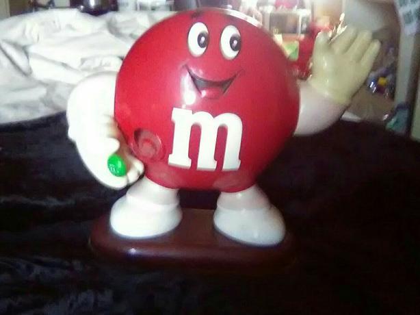 M&M Toy Figure