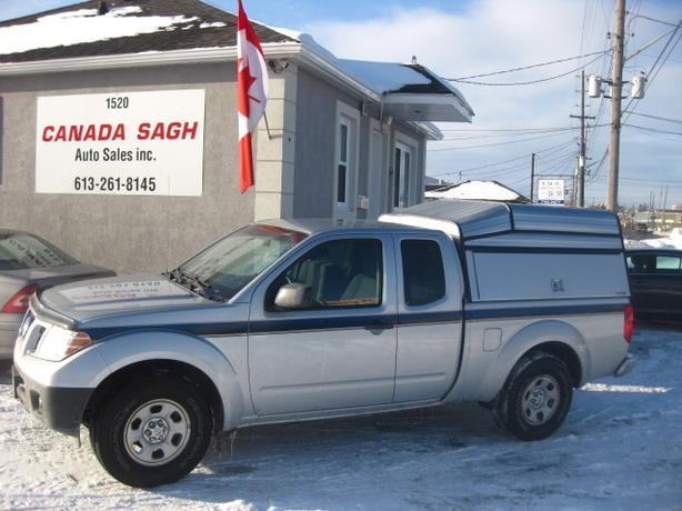 2013 Nissan Frontier TRUCK WITH THE BOX, 12M.WRTY+SAFETY $11900