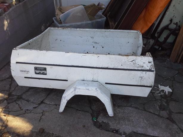 European Super Light utility trailer Box. Needs axle & wheels