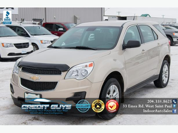 2012 Chevrolet Equinox LS #I6193 INDOOR AUTO SALES WINNIPEG