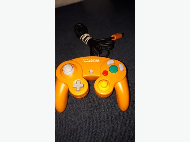 Orange gamecube controller