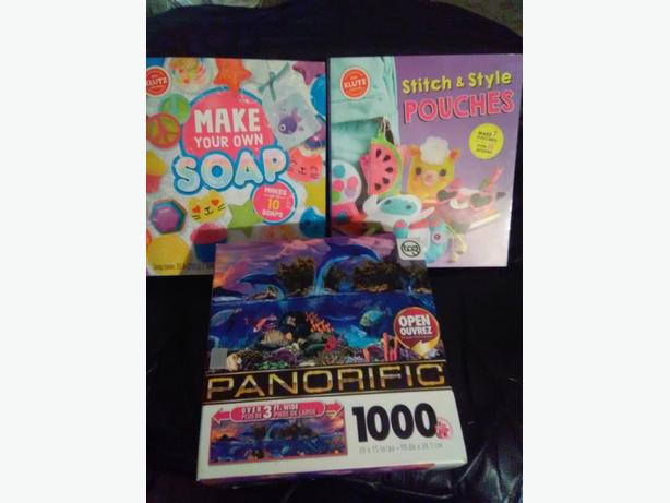 soap making and stitch n style kits