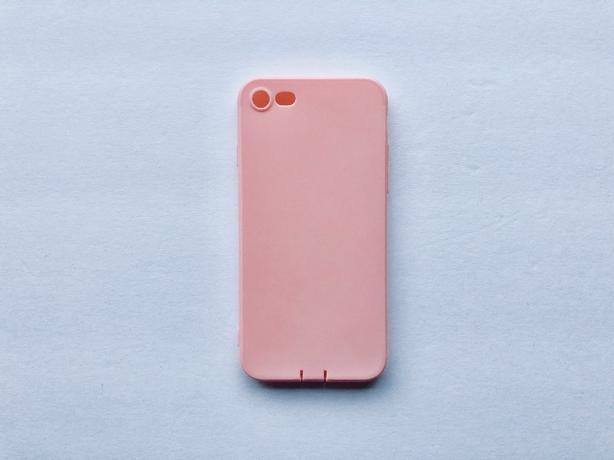Super Thin Pink/Peach iPhone 7 Case NEW
