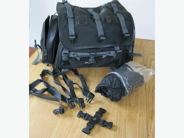 Motofizz Seat Bag - Expandable Luggage