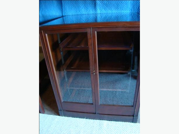 Hudson's Bay Blanket Display Case - Antique