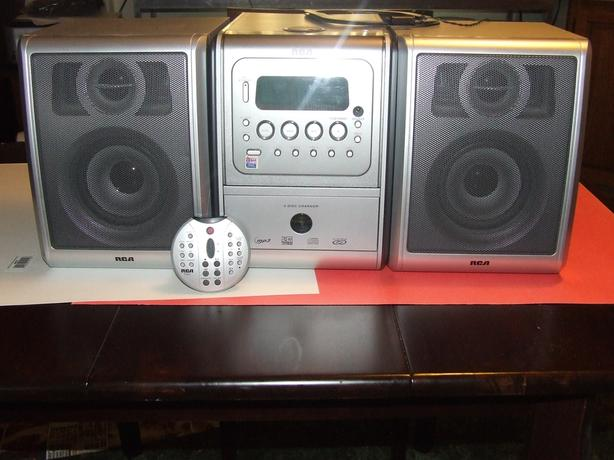 OBO RCA 5 CD Bookshelf stereo