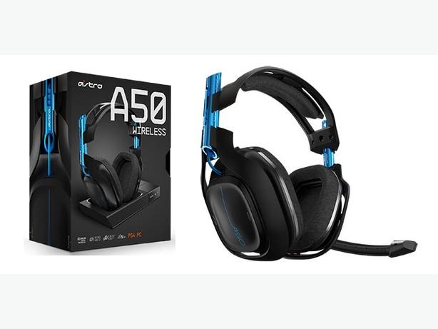 The ASTRO A50 Wireless Headset for PS4, PC, and Mac delivers top-of-the-line acoustics, ergonomics, and durability that professional gamers demand. Experience legendary sound and performance without the inconvenience and restrictions that come with wires.3/5(2).