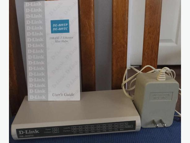 D-link 8 port ethernet hub