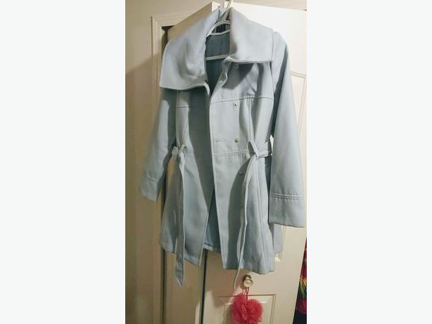 Baby blue atmosphere peacoat size 10