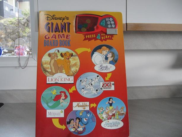 DISNEY'S GIANT GAME BOARD BOOK