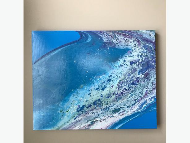 "Acrylic painting 24"" x 30"""