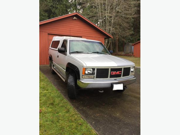'93 GMC Sierra 2500 4X4 with topper