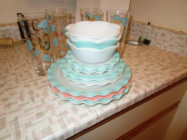 FREE: vintage dishes and glasses