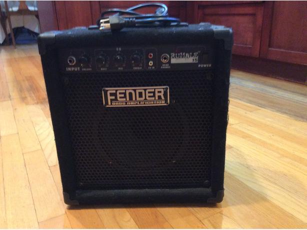 Portable Fender Bass Amp