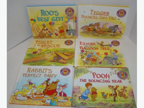 Disney's Winnie The Pooh And Friends Story Books