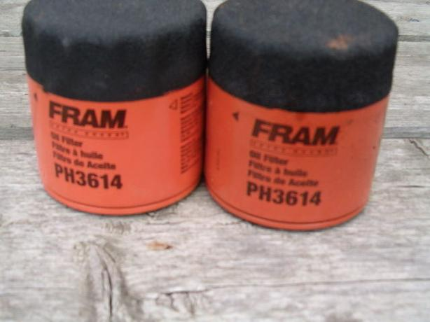 Fram oil filter , lawn tractor ,