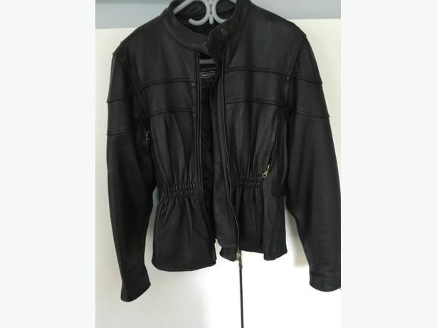 womens leather cruising jacket