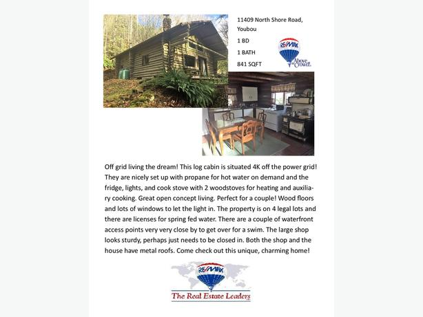 11409 North Shore Road, Youbou